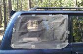 Pantallas de ventana magnética para coche Camping