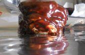 Cabeza de chocolate