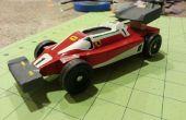 1976 Ferrari de Niki Lauda, aparece en Rush - Pinewood Derby estilo
