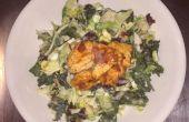 Ensalada de pollo saludable en menos de 20 minutos