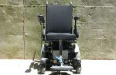 Instrucciones para completar la maqueta de la pista Slide diseño de elevación/descenso de reposapiés montada en el centro en sillas de ruedas eléctricas