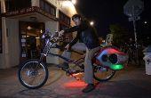 Los peces Choprical: un ser humano alimentado bicicleta fiesta
