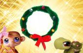 Guirnalda de Navidad miniatura fácil