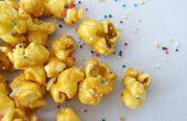 Pastel de palomitas de maíz de masa