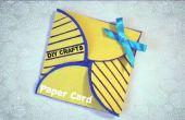 Manualidades DIY - tarjeta de papel Simple