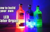 Cómo construir su propio órgano de Color LED || Arduino || MSGEQ7