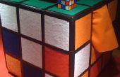 Disfraz de cubo Rubik casero