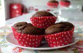 Receta de magdalenas Chocolate chocolate