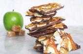 Corteza de manzana caramelo Chocolate