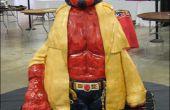 Cómo hacer un pastel Hellboy esculpido