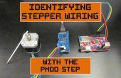Identificación de cableado de paso a paso con el paso del Pmod