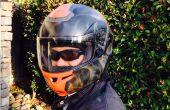 Cómo aerógrafo un casco de moto