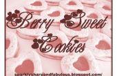 Berry galletas dulces ideal para día de San Valentín!