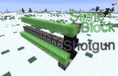 Minecraft: Baba de escopeta de bloque
