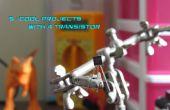 5 proyectos interesantes con un Transistor de General