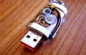 Impulsión del Flash del USB Steampunk