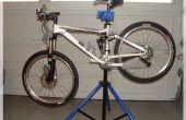 Soporte de reparación de bicicleta portátil DIY