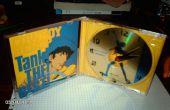 CD de música + CD Cover - reloj alarma