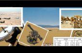 Sun Compass de la tormenta de desierto de operación