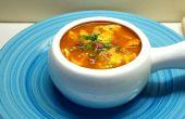 Un poco o mucho picante sopa de pollo para todo el mundo de boca