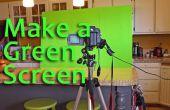 Cómo hacer y utilizar una pantalla verde
