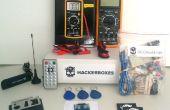 HackerBoxes 0000: Circuitos de C.C., RFID, Software Radio, infrarrojo