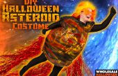 DIY Spooky el asteroide traje