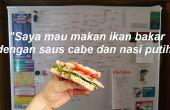 Aprender un nuevo idioma (mientras haces un sándwich!) ¿