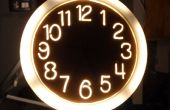 Ilumina reloj utilizando una sierra de calar
