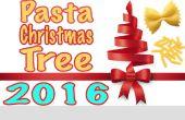 Cómo hacer árbol de Navidad Pasta + M & Ms