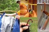 10 Hacks de la vida con mosquetones #2