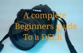 Una guía de principiantes para una réflex digital