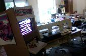 Cartón jugar Donkey Kong Arcade de la máquina