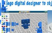 Lego digital designer to obj