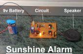Alarma sol utilizando LM555 y LM358