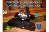 Tanque con video controlado por app inventor android y bluetooth