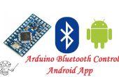 Arduino pro mini Bluetooth HC-06 y aplicación Android