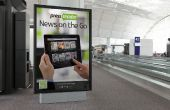 Fácil frambuesa Pi basado en protector de pantalla/presentación de diapositivas para exposiciones y tiendas frente