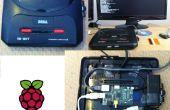 Sega Mega Drive/Genesis II caso de frambuesa Pi
