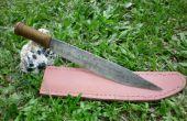 Cómo hacer una funda de cuchillo de cuero