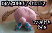 Libelula conejo pijama bolsa