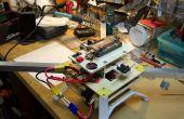 Un fuselaje ancho cuadrotor - diseños e ideas para construir su propio.