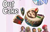 Interior hacia fuera cumpleaños pastel - cómo hacer