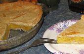 Shaker casero pastel de naranja