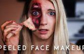 Cómo pelar de la piel! (con maquillaje)