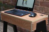 Mesa de ordenador portátil DIY - uso limitados herramientas y madera contrachapada