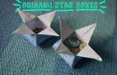 Cómo hacer una caja de estrellas de Origami