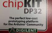 Programación utilizando el IDE de Arduino a la placa ChipKIT Dp32
