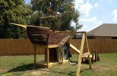 Cómo construir un patio de la nave de pirata