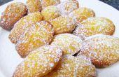 Francés de magdalenas mantequilla pasteles